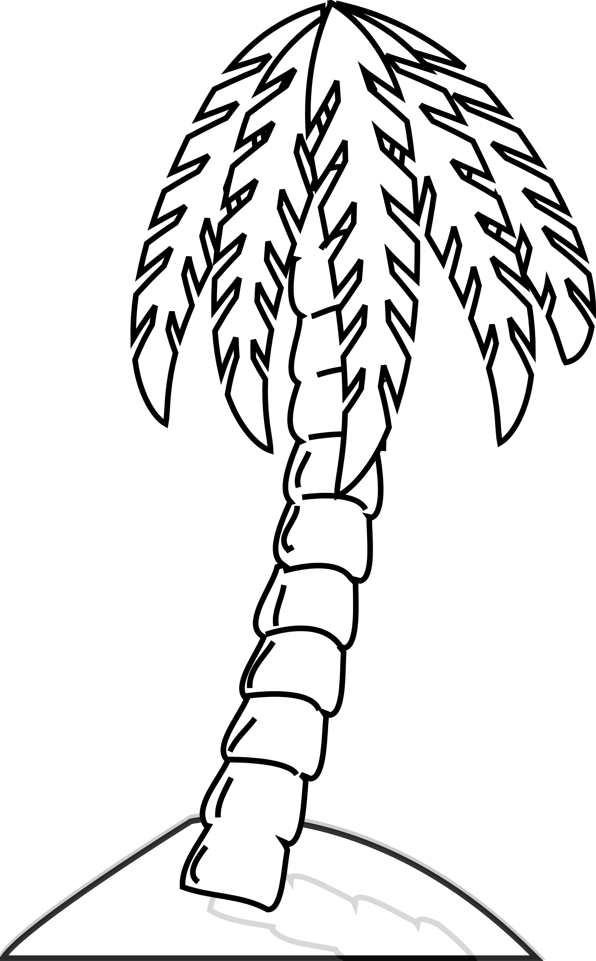 collection of narra. Tree clipart black and white