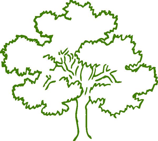 Green Tree Clip Art at Clker