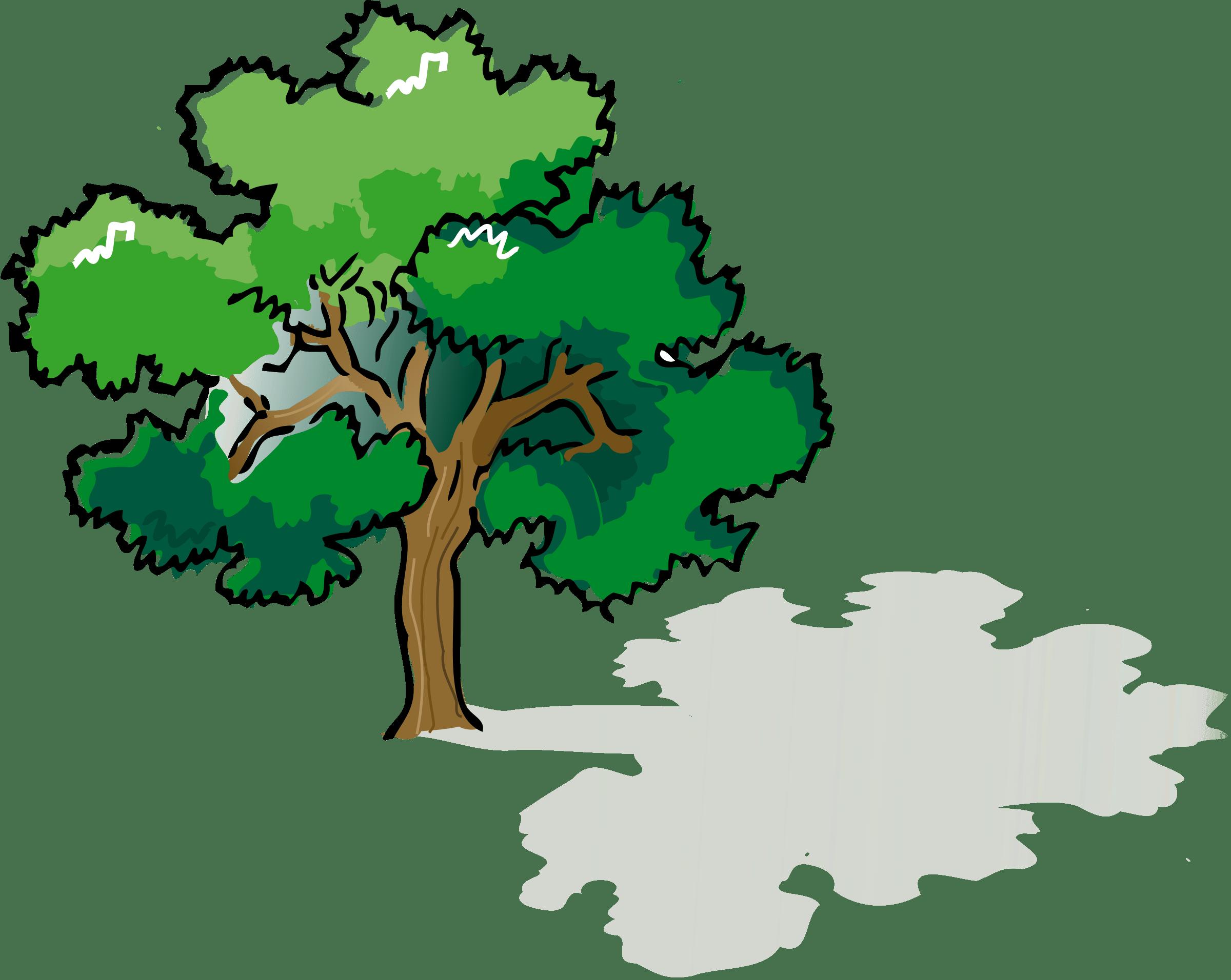 Clipart tree narra.