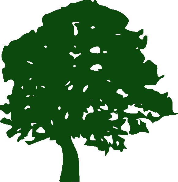 Tree clipart oak. Clip art at clker