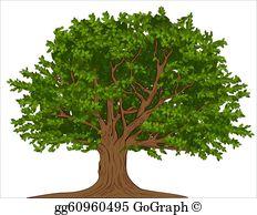 Clip art royalty free. Tree clipart oak