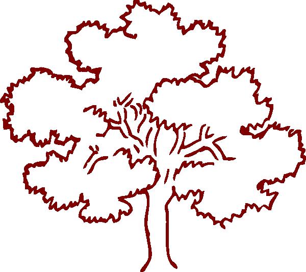Clip Art Tree Outline
