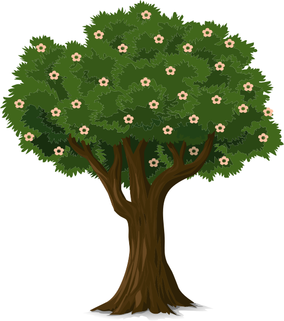 Clipart tree pdf.  collection of flower