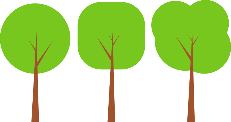 Flat medium image png. Clipart tree pdf