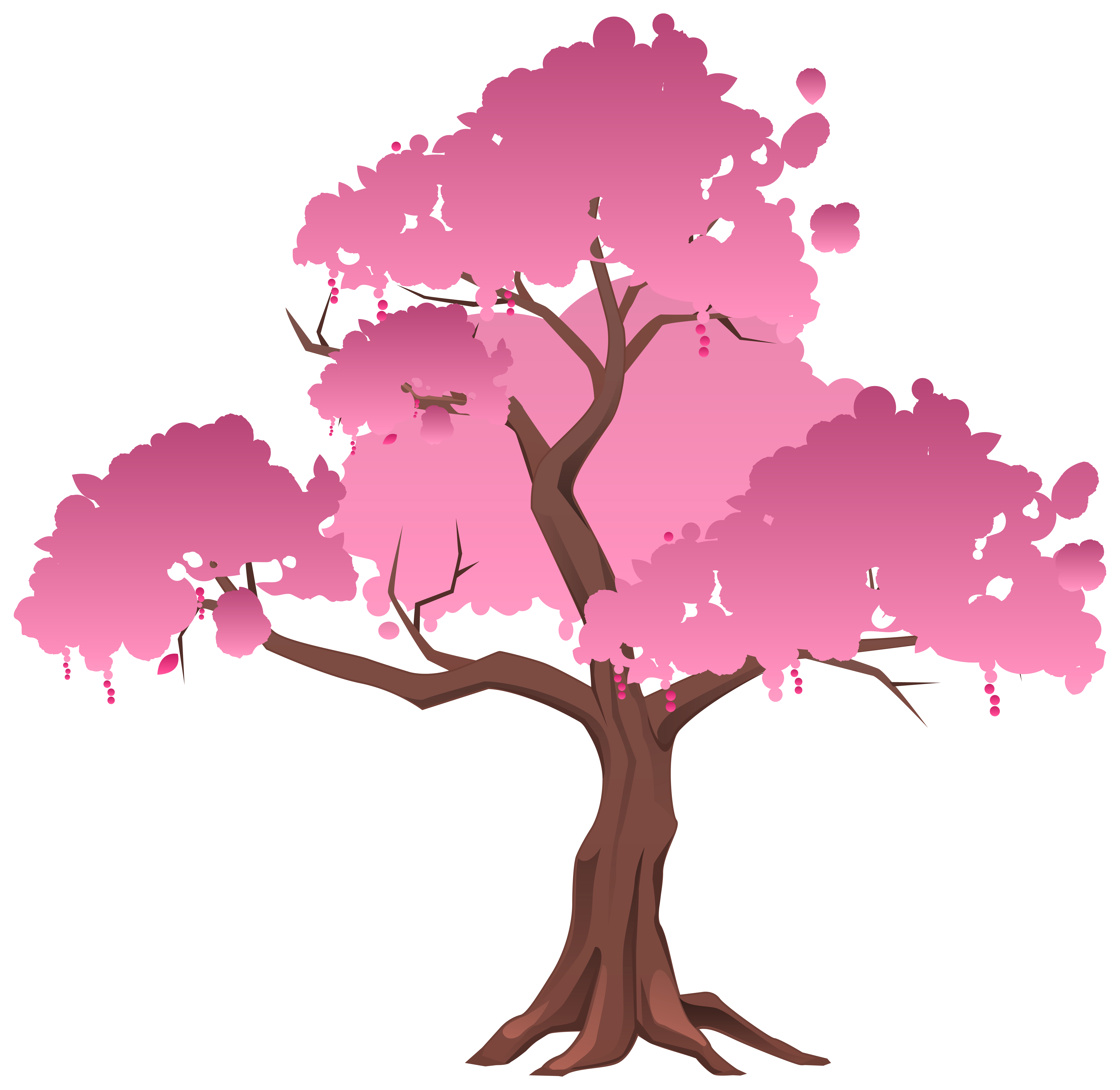 Clipart trees romantic. Pink japanese tree png