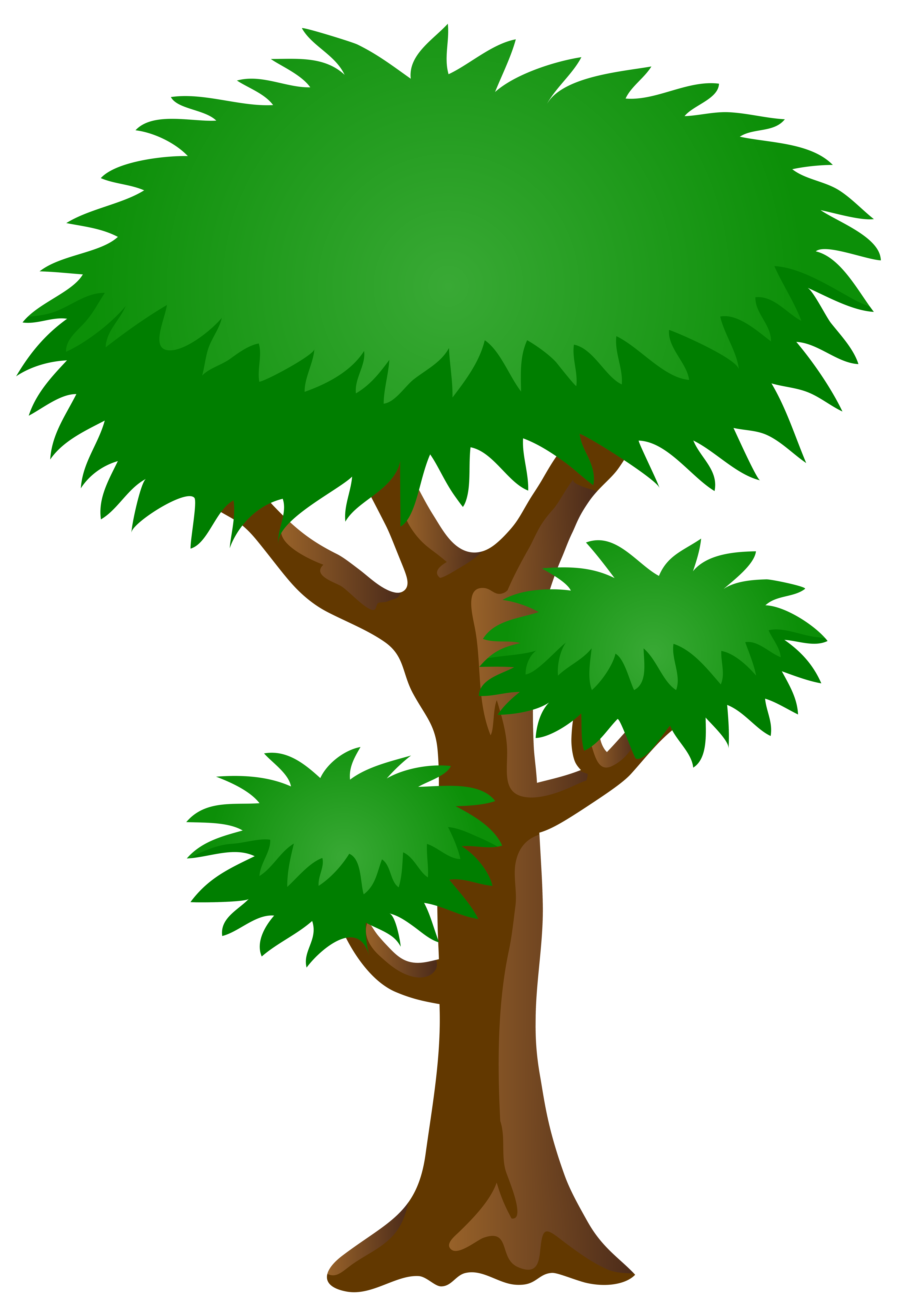 Clipart trees romantic. Green tree png clip
