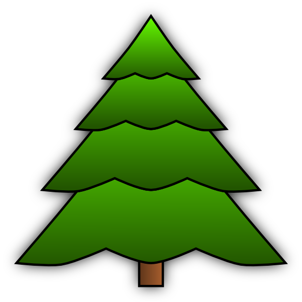 Root yxre. Tree clipart simple