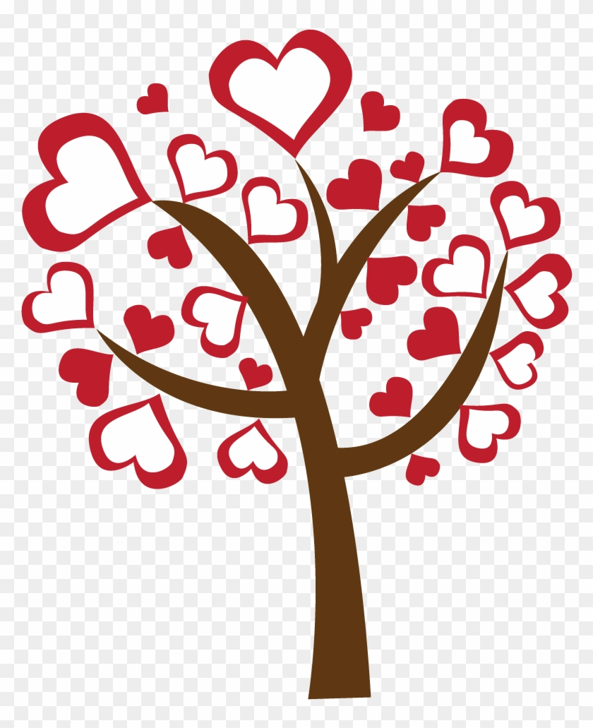 Clipart trees valentines day. Free valentine clip art