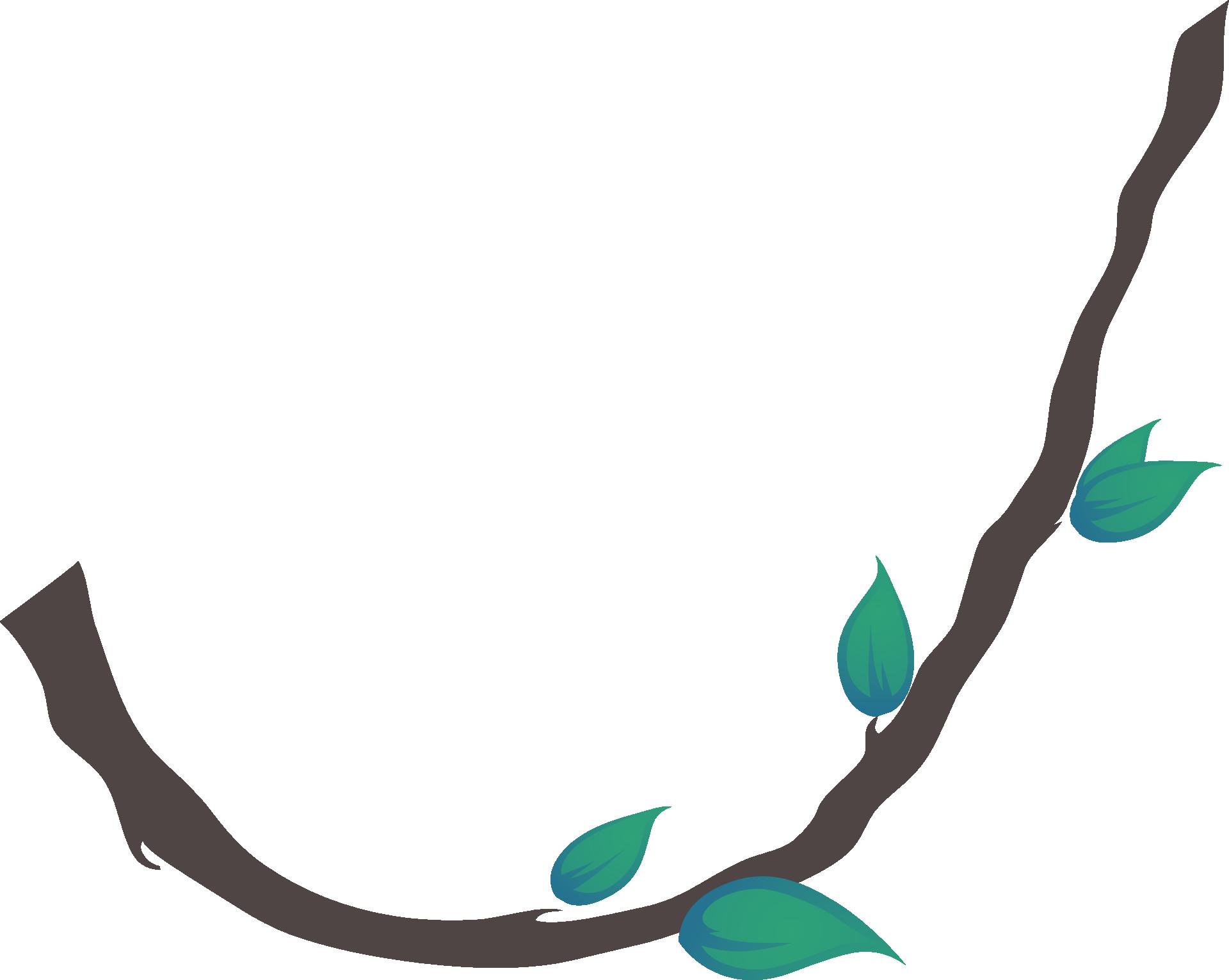 Tree clipart vine. Liana clip art jungle