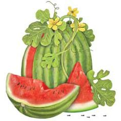 Watermelon clipart tree. Free cliparts download clip