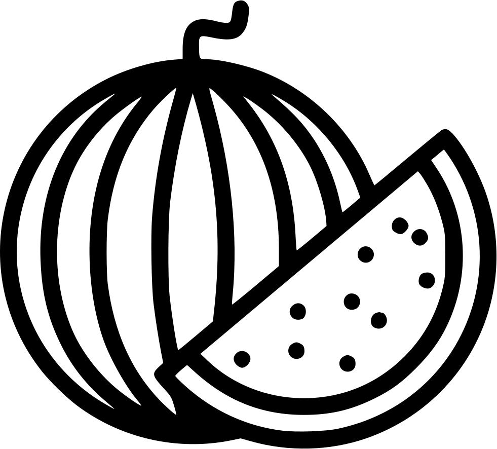 Slice food plant svg. Watermelon clipart tree