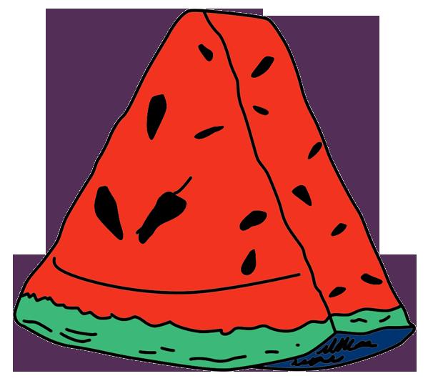 Watermelon clipart shake. Walter melon athf wiki