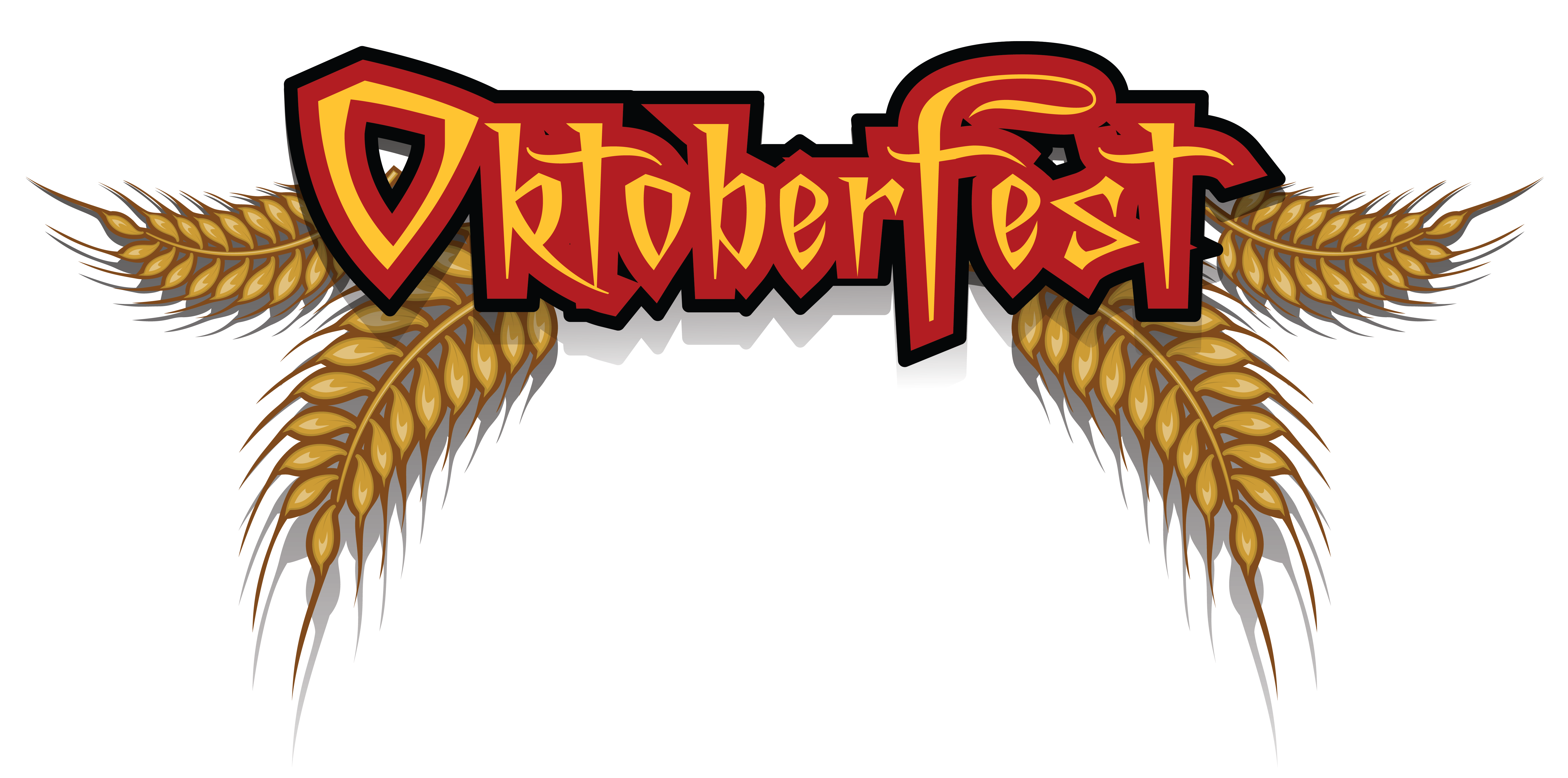Oktoberfest with png picture. Wheat clipart heart