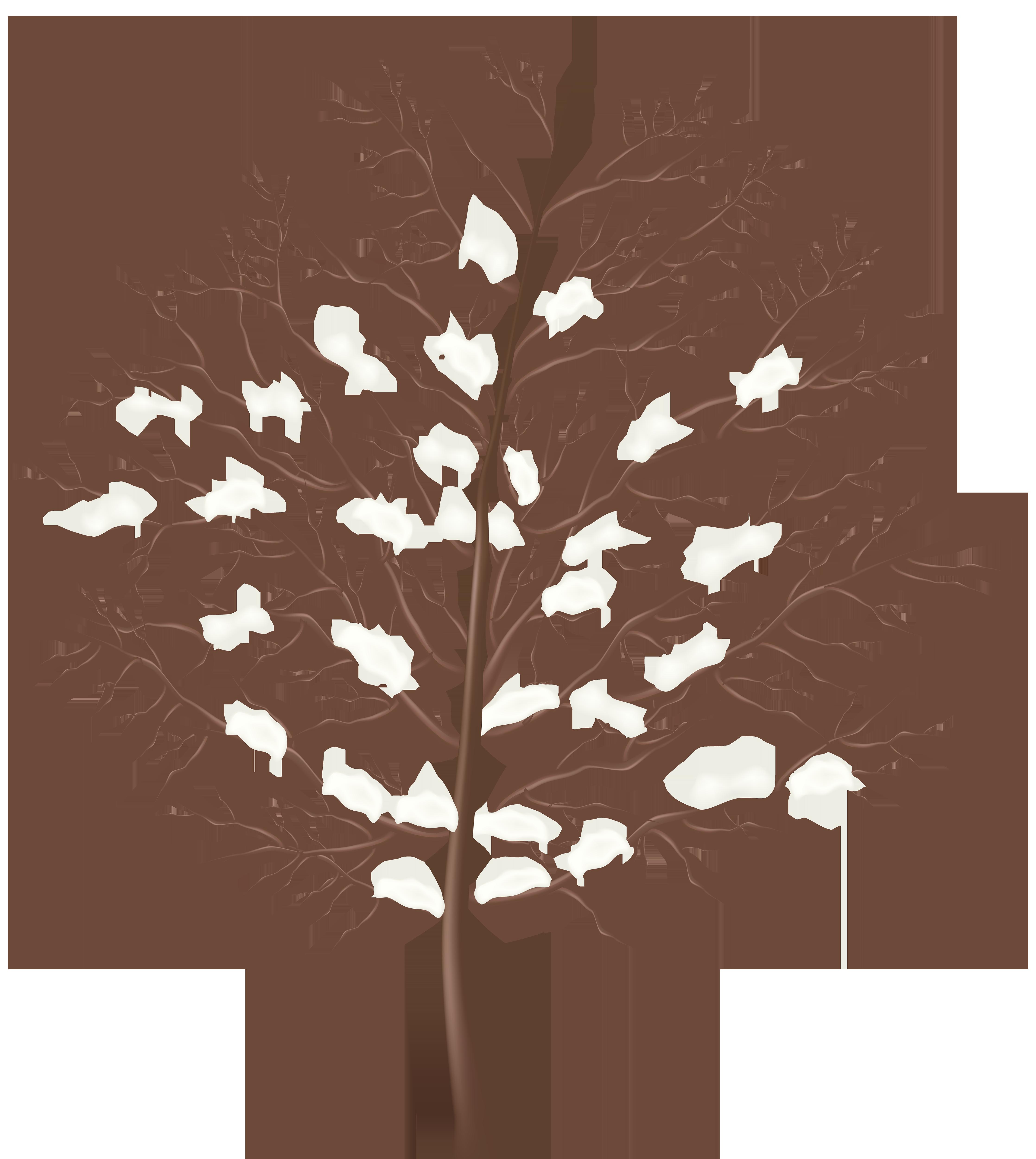 Tree clipart winter. Transparent png clip art