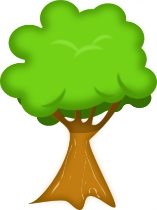 Clipart trees. Clip art free panda