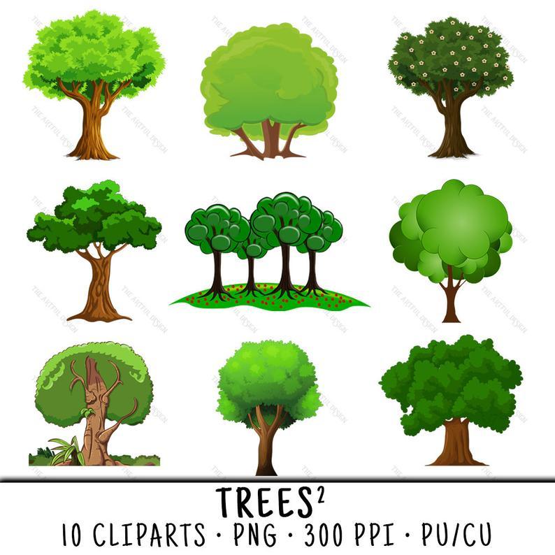 Tree clip art png. Clipart trees