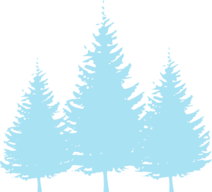 Clipart trees blue. Baby clip art at