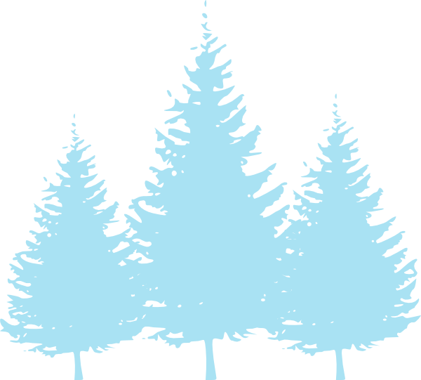 Baby clip art at. Clipart trees blue