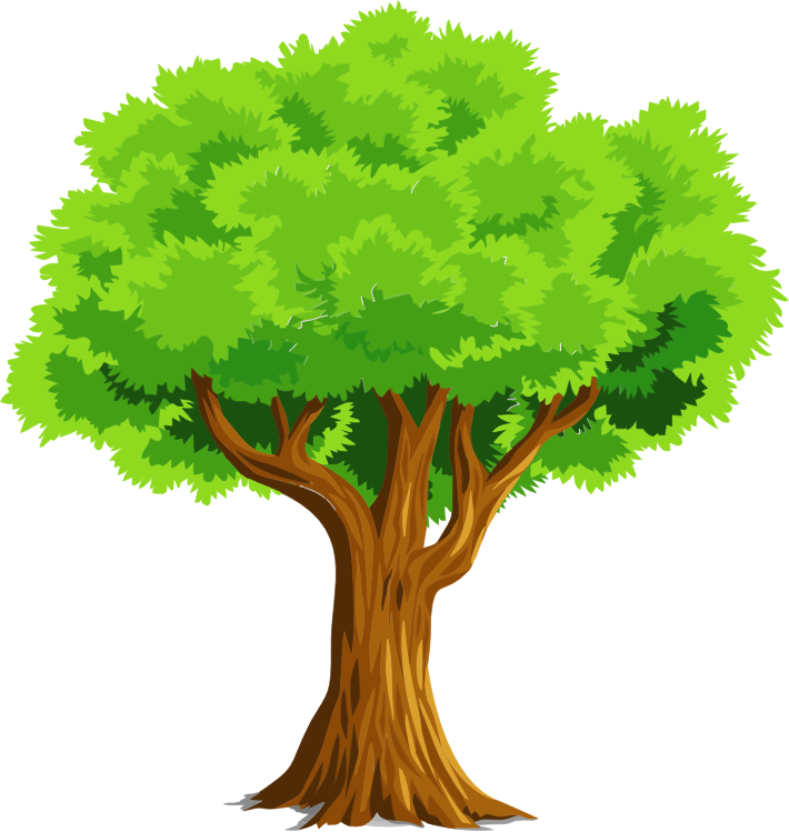 collection of a. Hug clipart tree