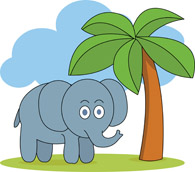 Clipart trees elephant. Search results for palm