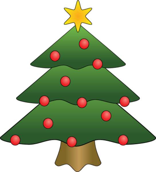 Clipart trees evergreen. Christmas tree free images