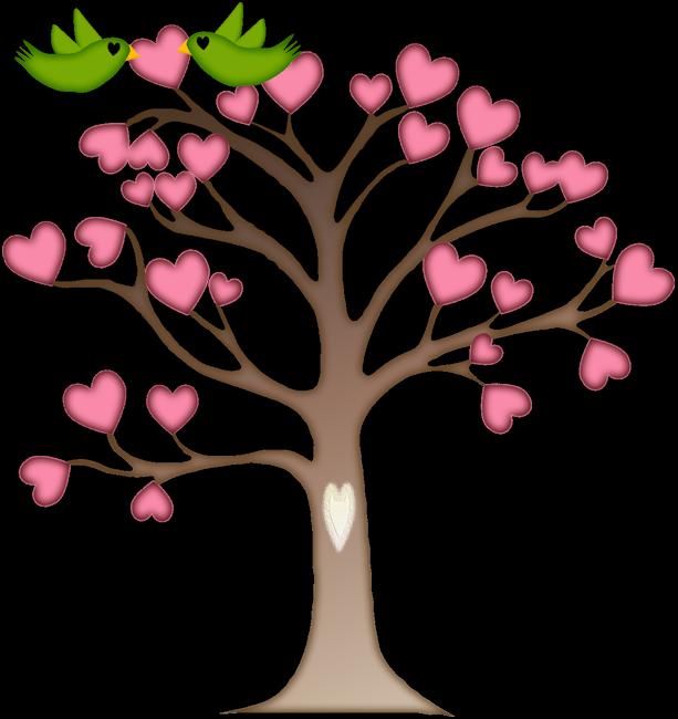 eb f cc. Tree clipart heart