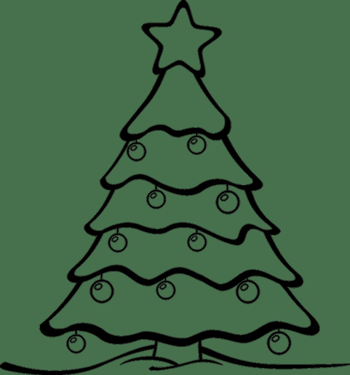 Clipart trees math. Christmas printables acur lunamedia