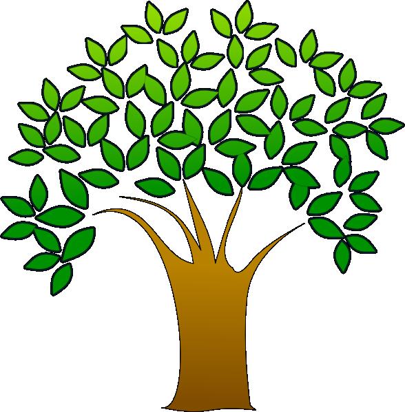 Tree clipart face. Clip art at clker