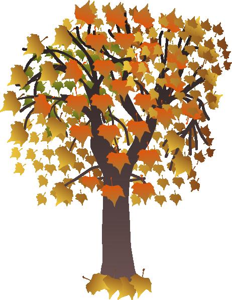 Clipart trees october. Tree maple clip art