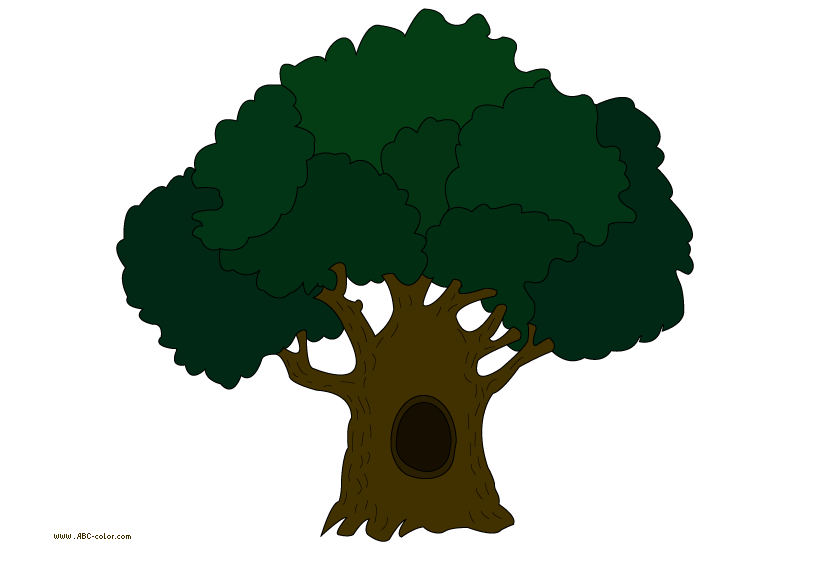 Oak raster picture download. Landscaping clipart tree