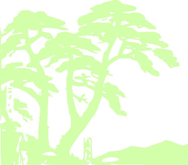 Clipart trees rainforest. Edit clip art at