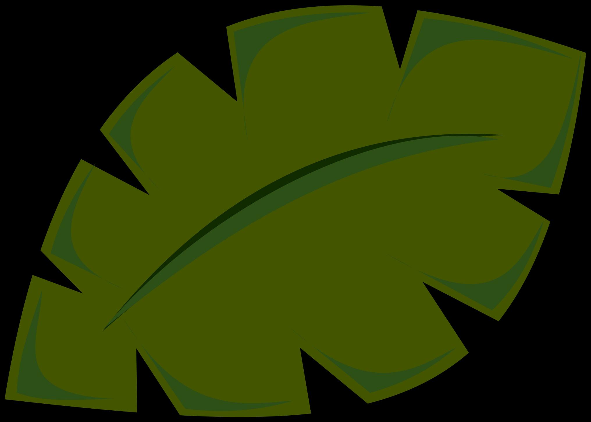 Tree clipart rainforest. Tropical leaf jungle clip