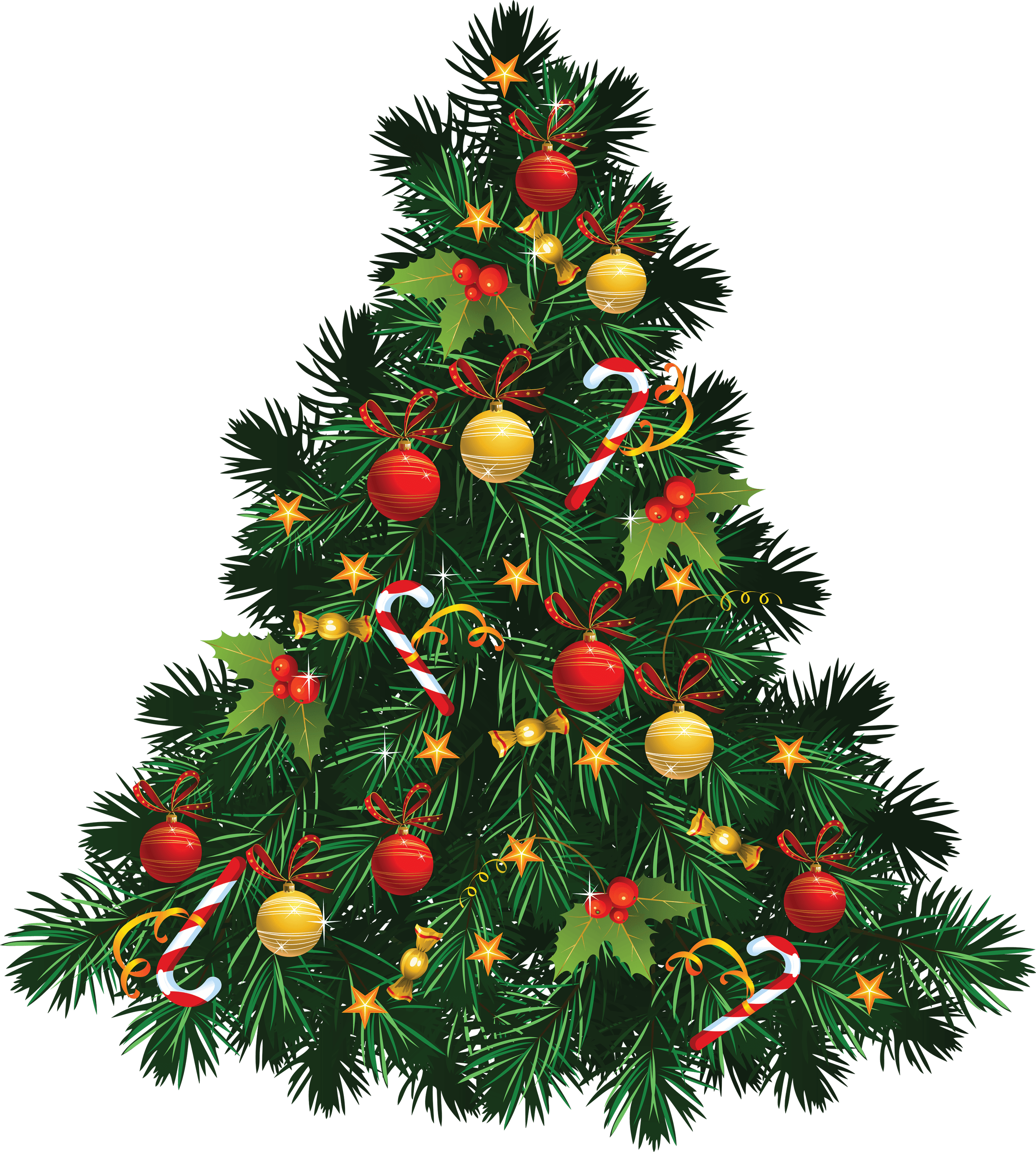 Christmas tree snow transparent. Door clipart holiday