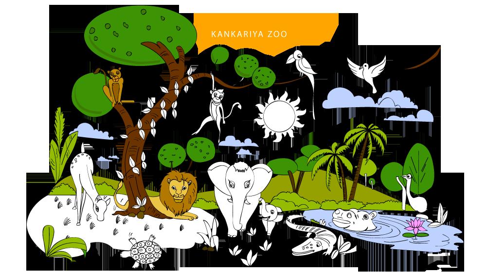 Gate clipart zoo. Kankaria
