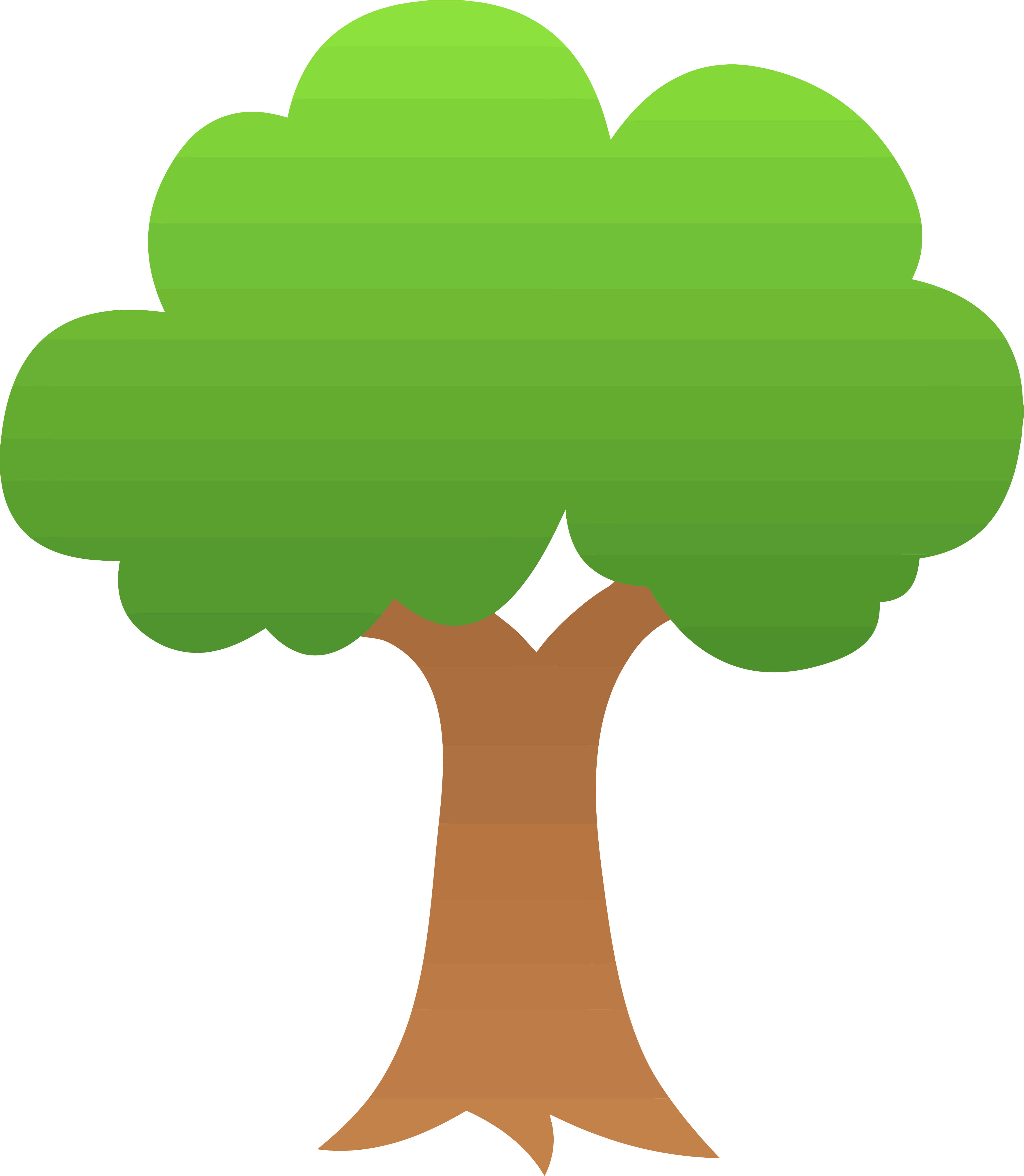 Gradient apple tree png. Clipart trees truck