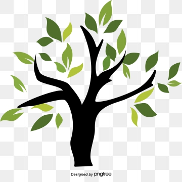 Tree clipart vector. Graphic resources for free