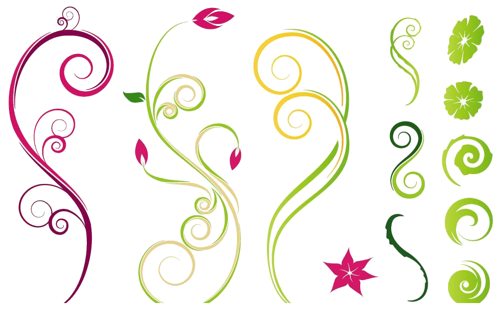 Clipart trees vine. Flower drawing clip art