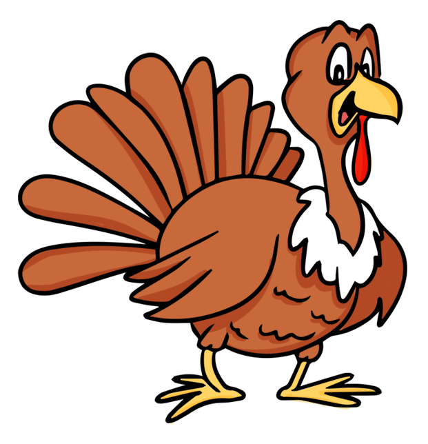 Free turkey clip art. Feast clipart family dining