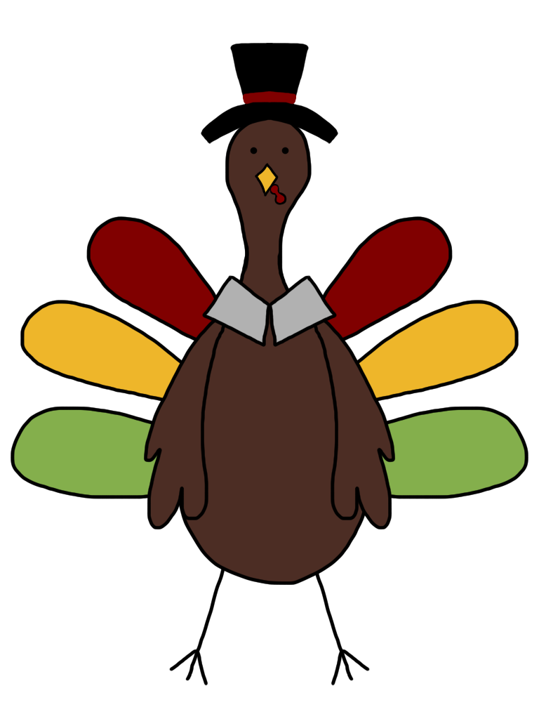 Turkey clip art pictures. Feast clipart cooked meat