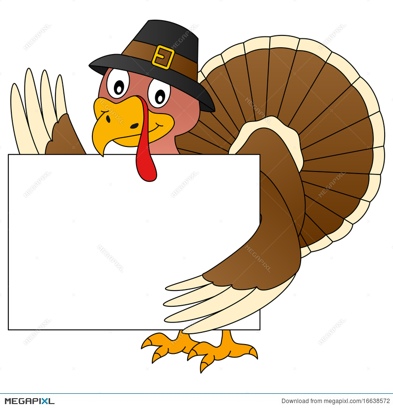 Thanksgiving and illustration megapixl. Clipart turkey banner