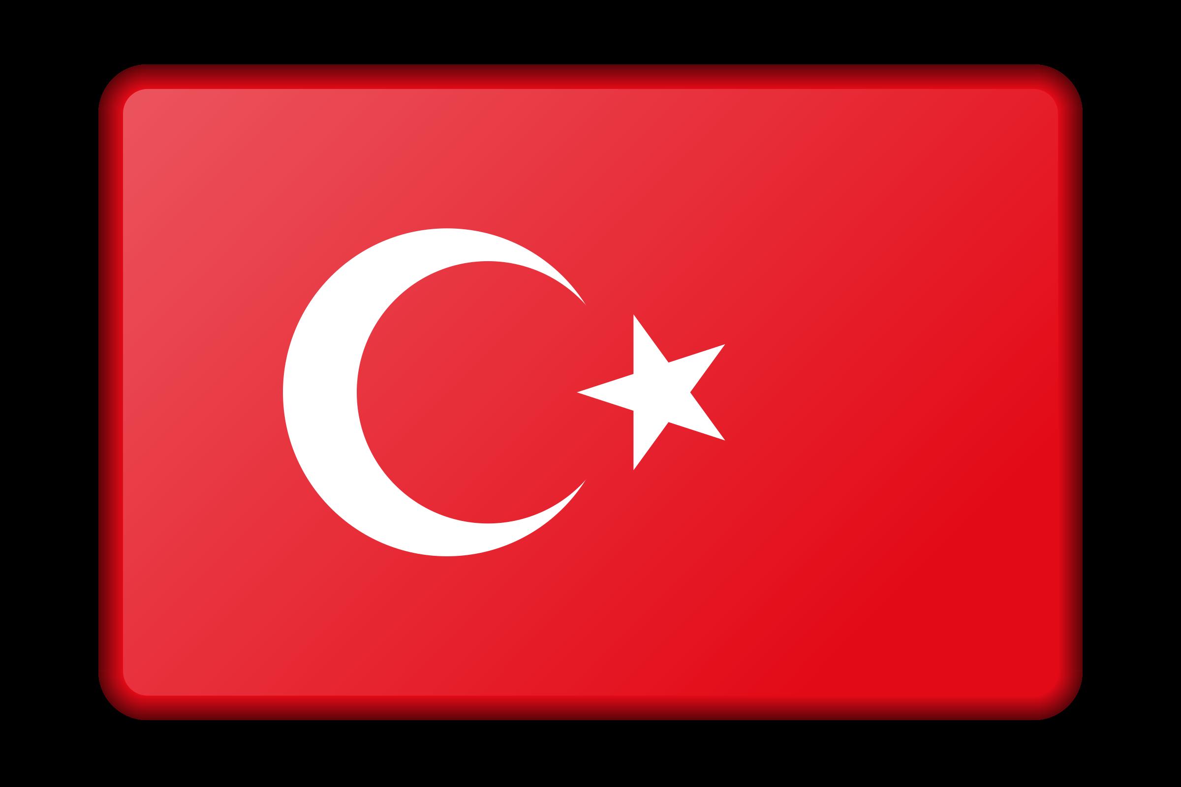Clipart turkey banner. Flag bevelled big image