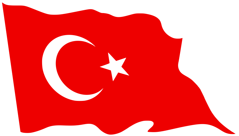 Flag ourclipart pin . Clipart turkey banner
