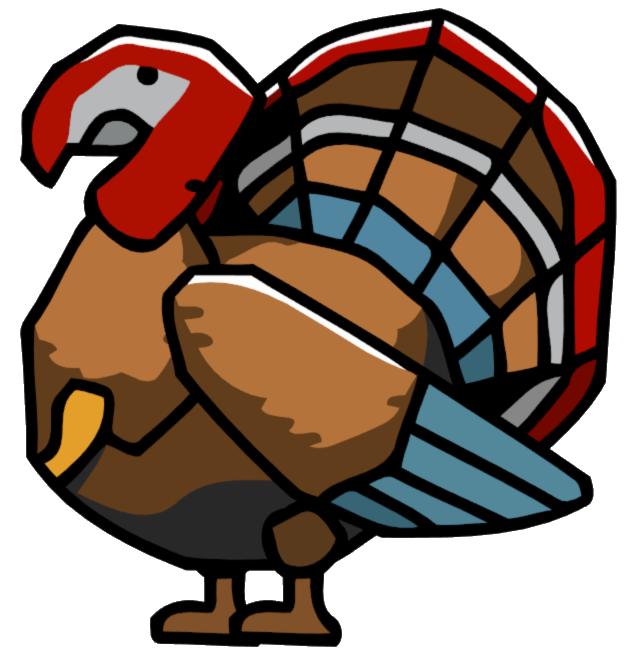 Clipart turkey bird turkey. Scribblenauts wiki fandom powered