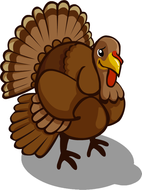 Bird png transparent images. Clipart turkey country