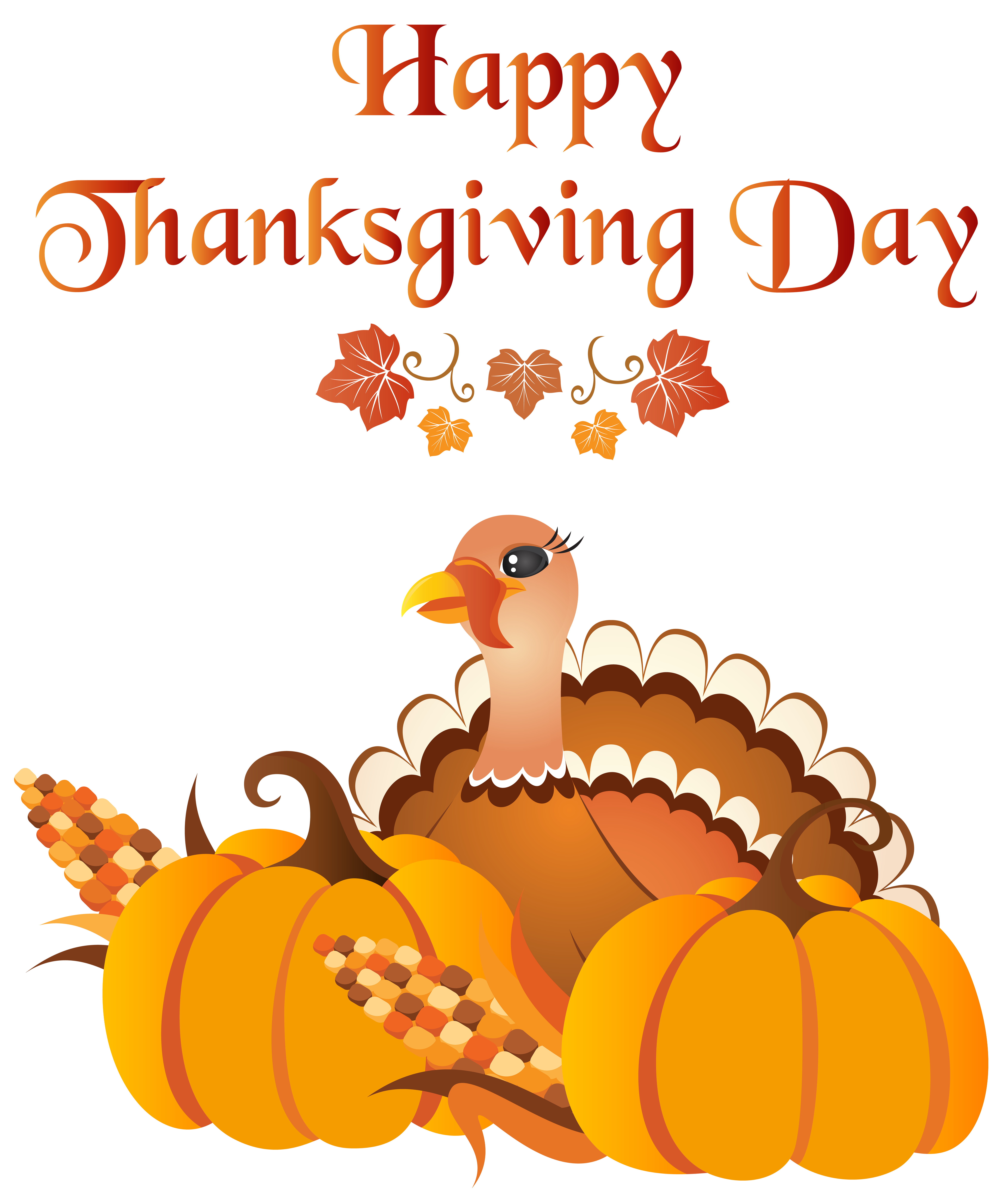 Clipart turkey happy. Thanksgiving day with png
