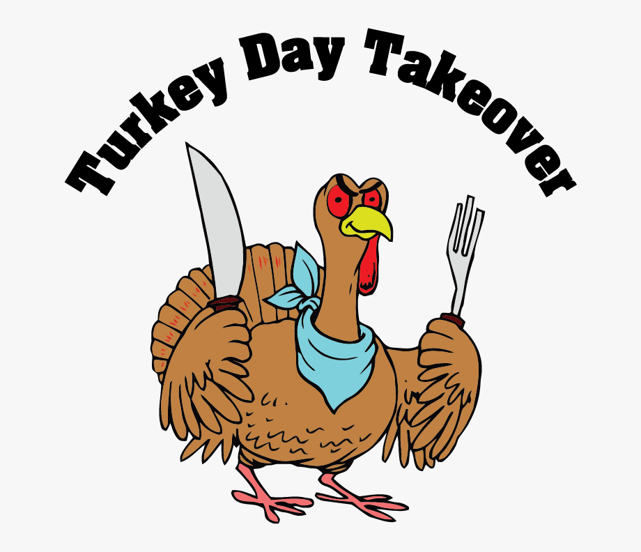 Turkeys clipart knife. Turkey bird fork with