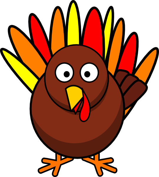Round turkey clip art. Feast clipart cooked meat