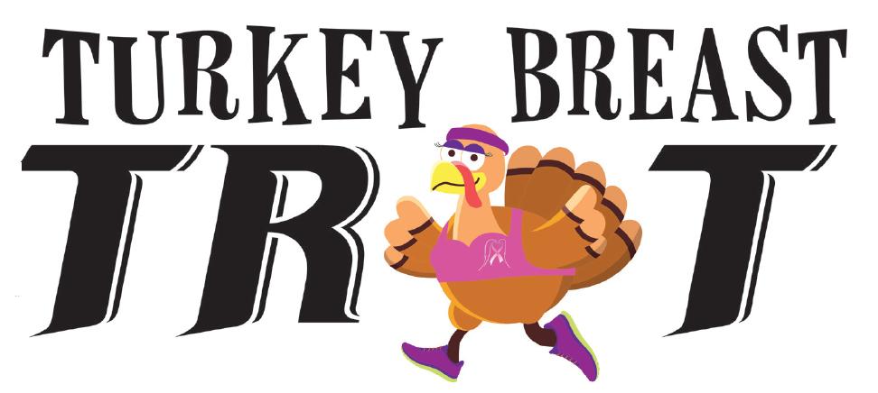 nd annual trot. Clipart turkey turkey breast