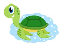 Clipart turtle. Reptiles clip art pictures