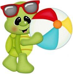 Clipart turtle beach. Cliparts zone